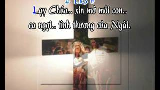 Ephata Hãy Mở Ra - karaoke playback - http://songvui.org