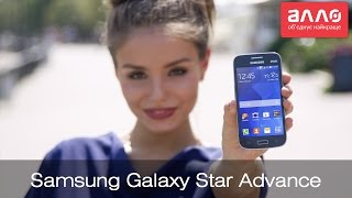 Видео-обзор смартфона Samsung Galaxy Star Advance