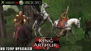 King Arthur - Gameplay Xbox HD 720P (Xbox to Xbox 360)