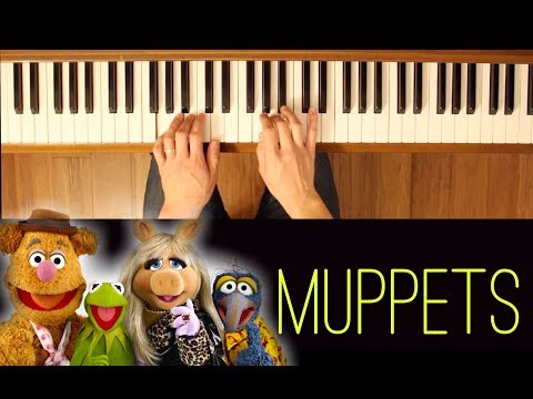 Dream For Your Inspiration (Muppets) [Easy-Intermediate Piano Tutorial]