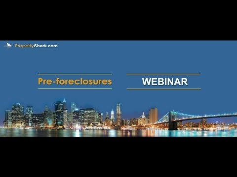 Pre-foreclosures listings and lis pendens - PropertyShark.com