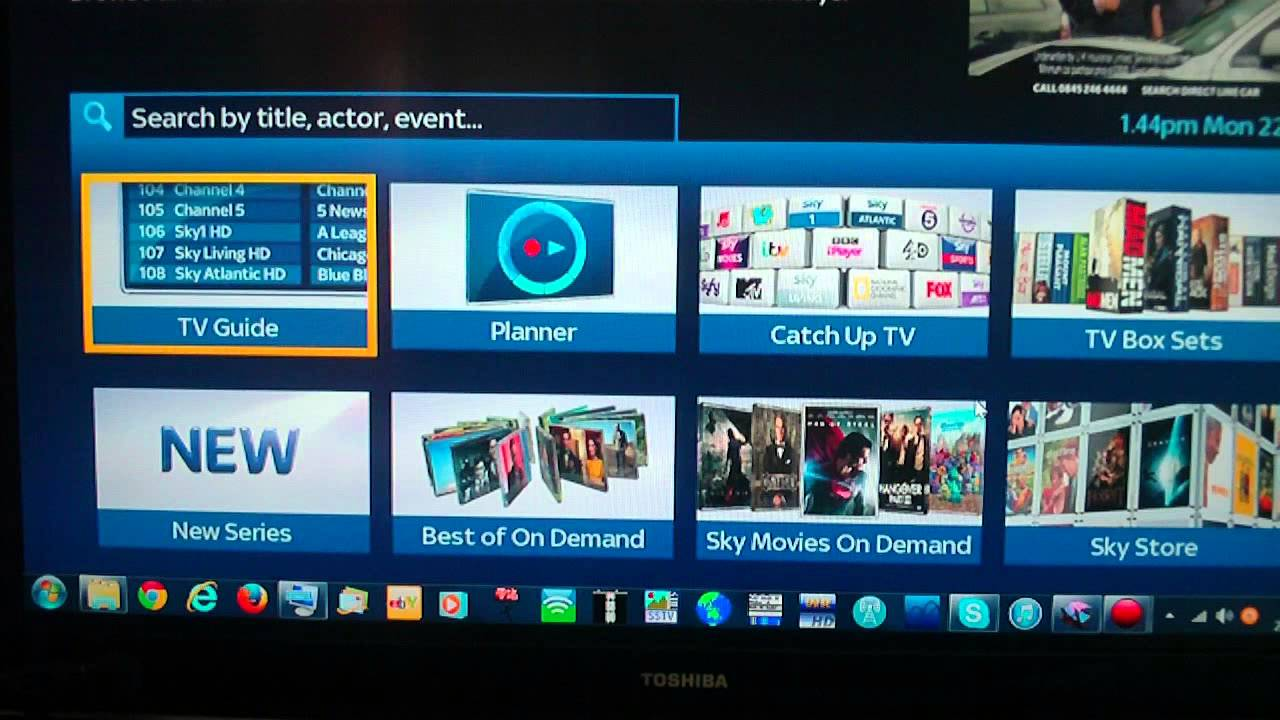 da sky on demand su pc