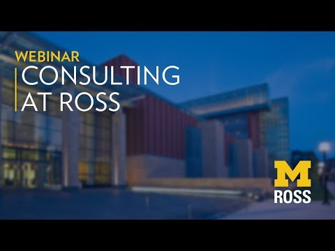 Full-Time MBA Careers: Consulting | Michigan Ross