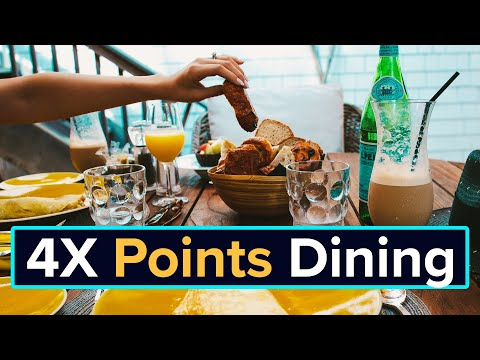 2019 BEST Business Credit Card For Dining 4X Amex Gold Card