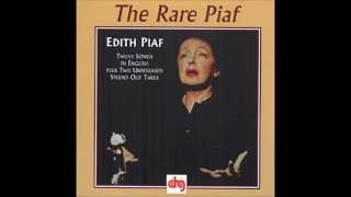 Edith Piaf - Fallait-Il? (studio outtake, 1962)