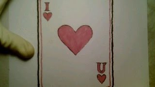 draw valentine drawing heart card doodle sketch mashup como getdrawings