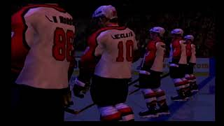 NHL 2001 - Pregame Flyers Intro (Playstation 2)