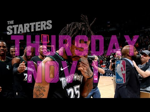 NBA Daily Show: Nov. 1 - The Starters