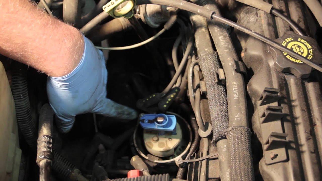 Jeep Cherokee Distributor Cap Replacement - YouTubeYouTube