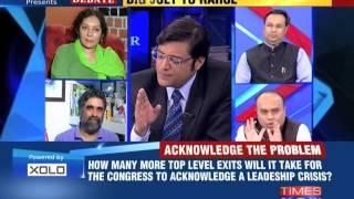 The Newshour  Debate: Fresh Rebellion Hits Congress - Full Debate (3rd Nov 2014)