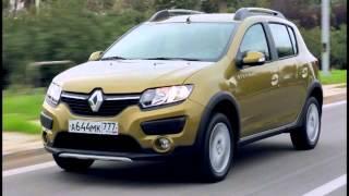 Тест драйв Renault Sandero Stepway 2015 ч 2(В плане оснащения Sandero Stepway II поколения сделало заметный шаг вперед. Появились кресла с новой обивкой, клима..., 2014-12-16T06:46:24.000Z)