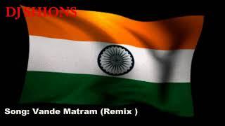 Vande Matram ( Remix )Dj shions