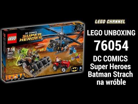 Klocki lego 76045 Batman, strach na wróble DC comics super heroes