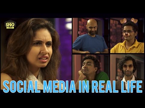 What If | Social Media in Real Life | Ep 1 #LaughterGames