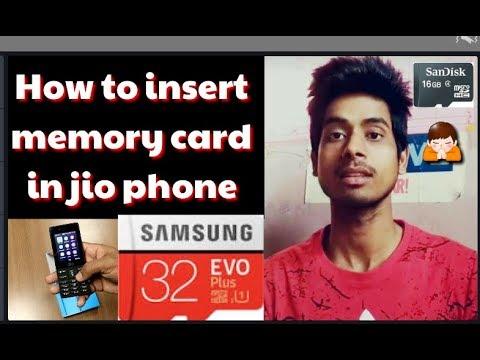 How To Connect Memory Card In Jio Phone||Jio Phone Me Memory Card Kaise Lgate Hain?Technical Sanjuji