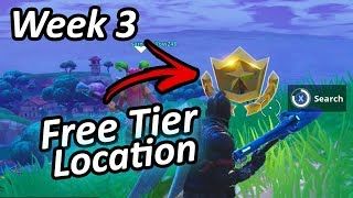 Free Battle Pass Tier | Week 3 Challenges (Location) - Fortnite Battle Royale