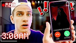 I GOT A **SCARY** PHONE CALL... 😈