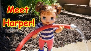 Meet Harper The New Happy Hungry BABY ALIVE!!