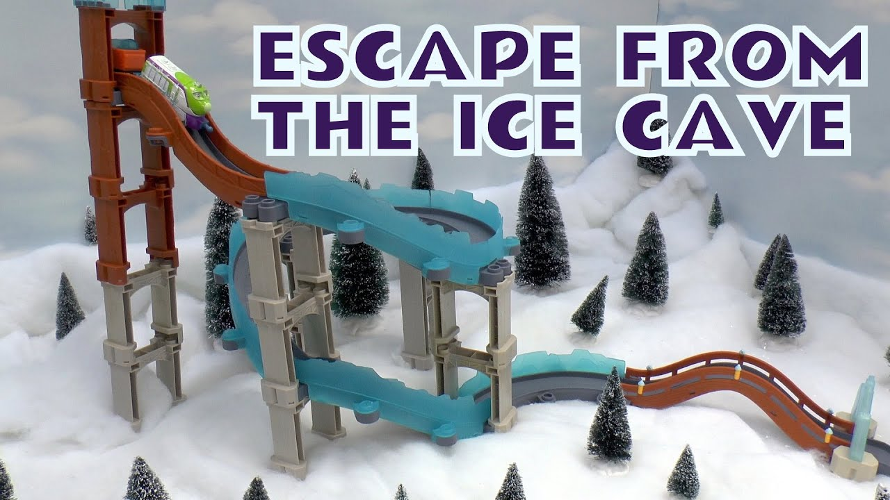 Chuggington Toy Escape From The Ice Cave Koko Stack Track Set 3 in 1 ...