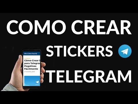 Cómo Crear Stickers para Telegram o Pegatinas Fácilmente