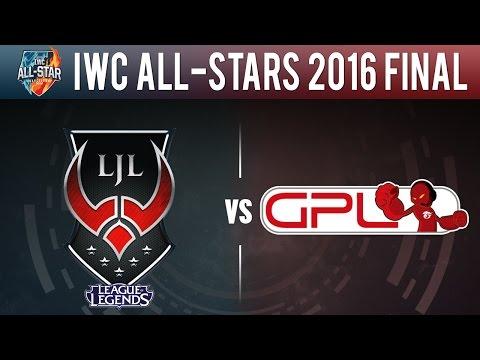 LJL vs GPL, Game 1 - IWC All-Stars 2016 Final Normal Mode - Japan vs Southeast Asia