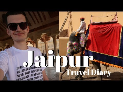 EXPLORE JAIPUR WITH ME   India Travel Diary Pt. 4