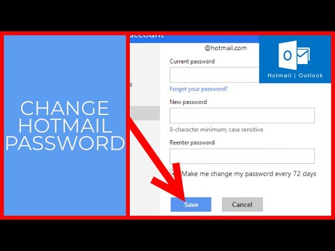 Hotmail Login: How to Change Hotmail Password? | Hotmail Email Password Change 2021 ~ hotmail.com