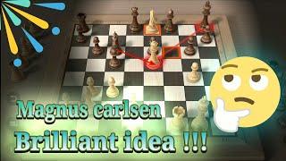 IDE CEMERLANG SANG JUARA DUNIA !!! magnus calrsen vs viswanathan anand 29-1-2014 !!!