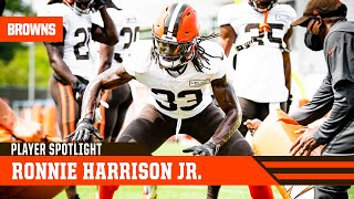 Safety ronnie harrison jr. talks with andrew gribble about how excited he is to be a cleveland brown.