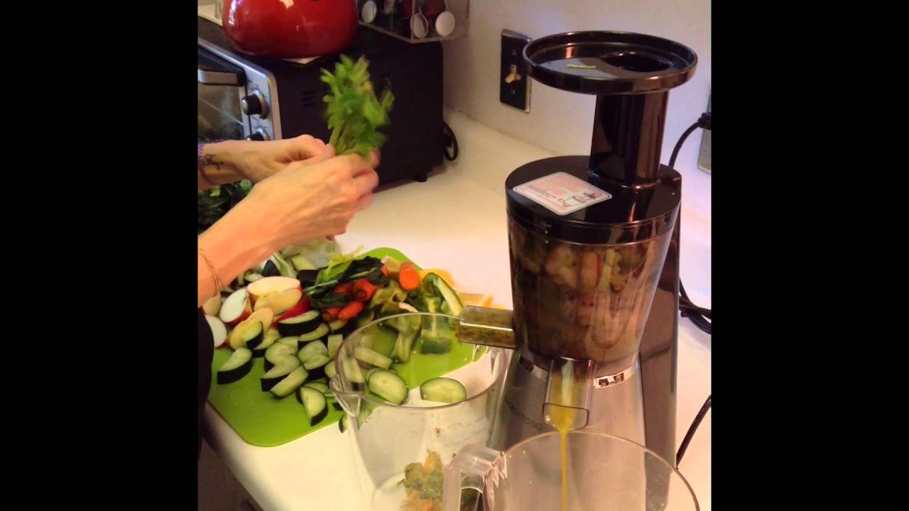 Andrew James Slow Juicer Review : How to juice with Juicepresso. #1731 on Go Drama