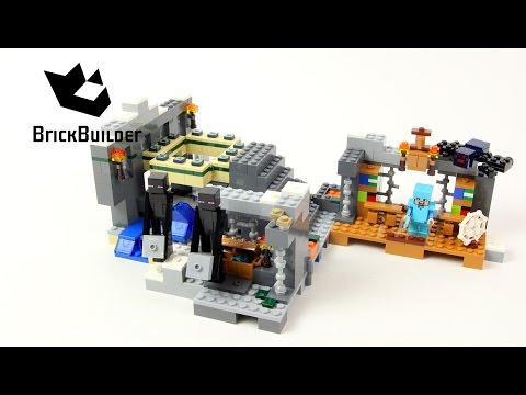 LEGO MINECRAFT 21124 The End Portal - Speed Build for Collec
