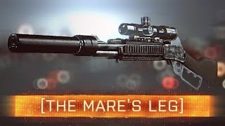 ► Mare's Leg Sniper! - Battlefield 4