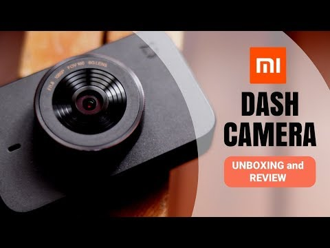 Mi Dash Cam - Unboxing And Review