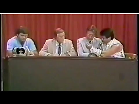 Memphis TV 6.4.83: Buildup for Lawler/Dundee LLT Bout
