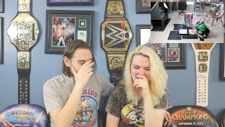 Reacting To My Old Videos With My Girlfriend