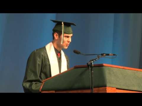 Binghamton University Commencement Spring  - Samson Widerman Impact Change Pride