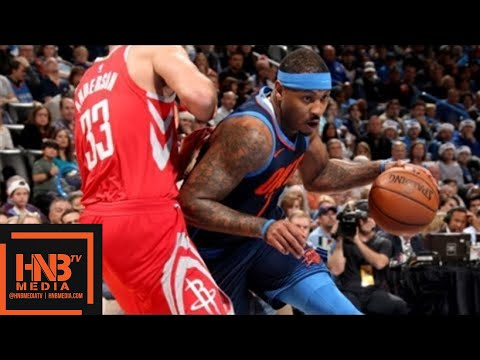 d66ce03a960 Oklahoma City Thunder vs Houston Rockets Full Game Highlights   Week 11    Dec 25