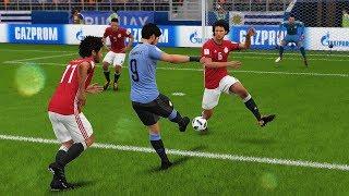 Uruguay vs Egipto | Copa Mundial Rusia 2018 de FIFA, Fase de Grupos | FIFA Simulacion