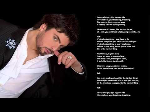 Tose Proeski - The hardest thing (HQ)