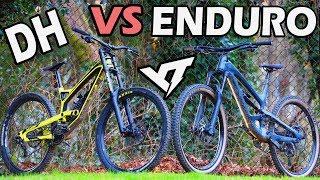 DH vs ENDURO // Do You Need a DH Bike? // YT TUES vs YT CAPRA