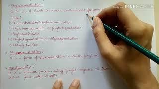 Bioremediation ( part-8 Environmental Science)