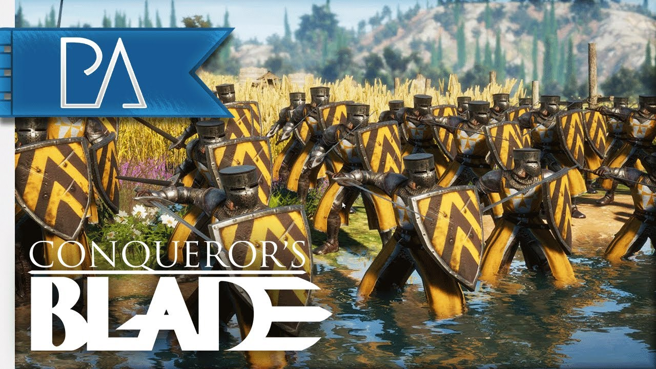 THESE MEDIEVAL SIEGE BATTLES ARE SO INTENSE!! - Conqueror's Blade Siege Gameplay