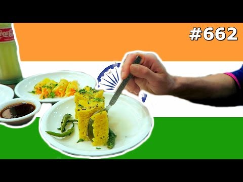 TRYING NEW INDIAN FOOD DELHI INDIA DAY 662 | TRAVEL VLOG IV