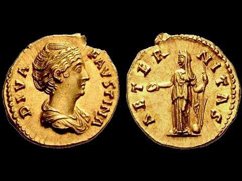 🔝 Аурей, 147 г. - 160 г., Монета, Римская Империя, АНТОНИН ПИЙ, 🌍 Aurey, 147 - 160 AD ✅