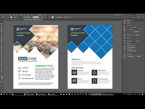 Adobe Illustrator 2019 Flyer design tutorial Poster Design Photoshop CC 2019 thumbnail