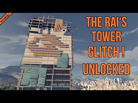 Dying Light Glitch - How To Go On Top Of Rais Tower Again