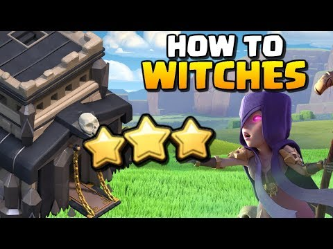 How to use Witches   TH9 Attack Strategy for 2018   Clash of Clans