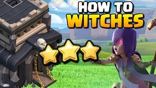 How to use Witches | TH9 Attack Strategy for 2018 | Clash of Clans