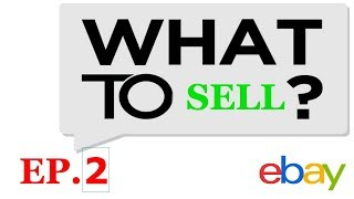 What to Sell when Drop Shipping on eBay? | Episode 2