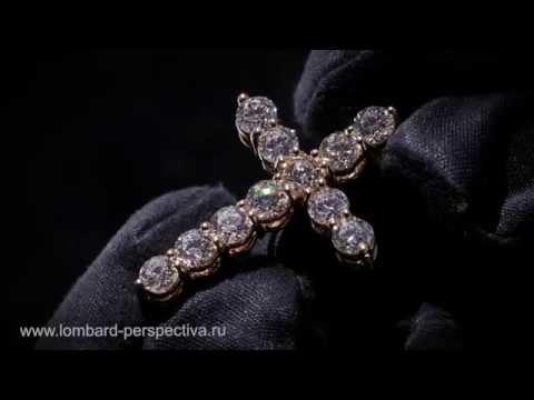 Крест GRAFF с бриллиантами